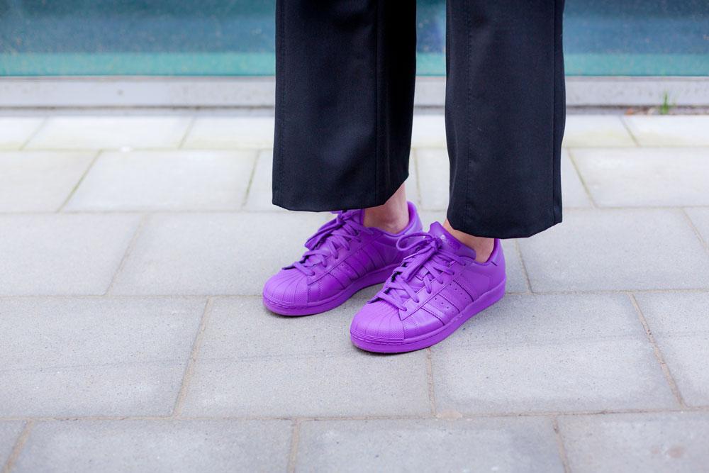 Supercolor Adidas Purple